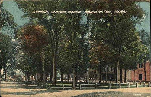 Common, Central Square Bridgewater, Massachusetts Original Vintage - Commons Bridgewater