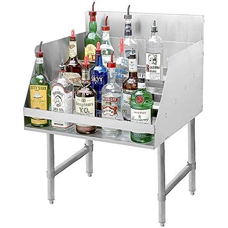 Advance Tabco LD 1818 Stainless Steel Liquor Display Rack 18 X 23