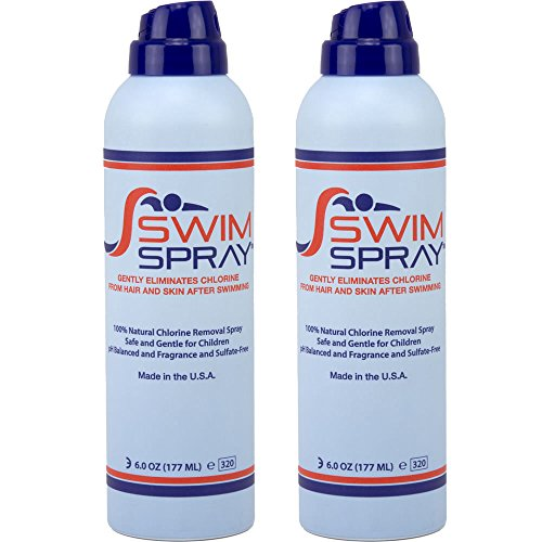Price comparison product image Swim Spray Natural Chlorine Neutralizer for Hair & Body - 6 oz. Bottles (Pack of 2)