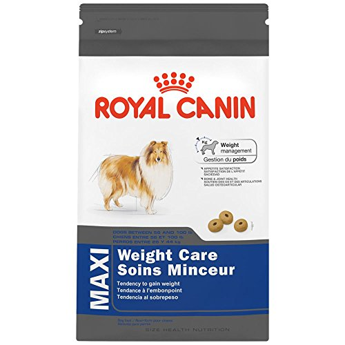 Royal Canin Health Nutrition Maxi Weight Care Dog Dry food, 30 Pound, For Overweight Large Breed Dogs