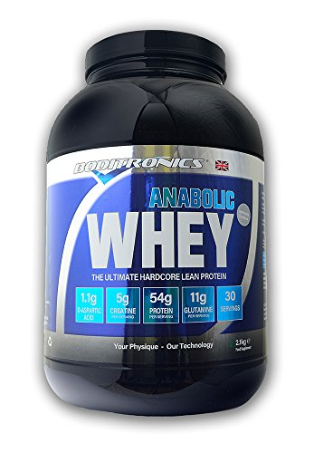 Boditronics Express Whey Anabolic Blend Rich Strawberry & Cream Flavour 2000g by Boditronics Express Whey