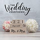 Mr and Mrs Gift for Couples Days Until Wedding Day