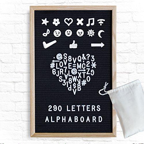 Alphaboard Changeable Felt Letter Board: Handmade 12