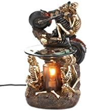 Skeleton and Motorcycle Electric Oil Warmer