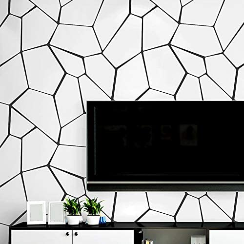 DOMO 壁紙シール ウォールステッカー 0.53x10M 簡単貼付シール 壁紙 はがせるタイプ 背景の壁紙 部屋装飾 防水 防潮 貼りやすい 非粘着性PVC材料 冷蔵庫、キャビネット、部屋などに対応