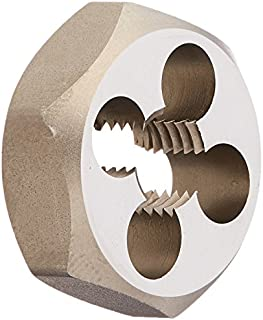 """product image for Kodiak Cutting Tools KCT171444 USA Made Hex Carbon Rethreading Die, 1 Hex OD, M10 x 1.25"""""""