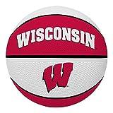 NCAA Wisconsin Badgers Alley Oop Dunk Basketball by Rawlings