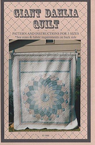 Giant Dahlia Quilt Pattern (Dahlia Quilt)