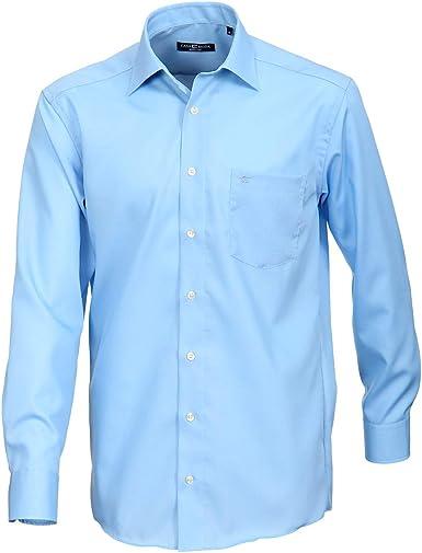 Camisa Tallas Grandes Azul Cielo Manga Larga Casa Moda, 45-57 ...