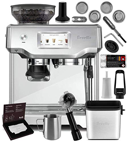Breville BES880BSS Barista Touch Espresso Machine Brushed Stainless Steel + Manufacturer