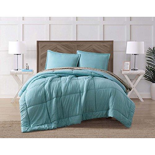 (Brooklyn Loom CS2244KG4-1500 Comforter Set with Bonus Quilt, King, Jackson)