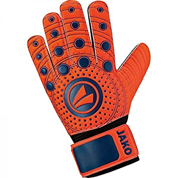 JAKO Junior 3.0 - Guante del portero - flame/night blue, 7
