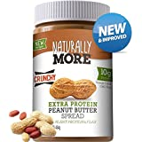 Naturally More Natural Crunchy Peanut Butter Spread + 10g Protein + Flaxseed