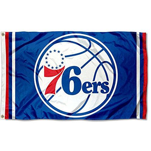 Philadelphia 76ers Logo Wall - Wincraft Philadelphia 76ers NBA Logo Flag and Banner