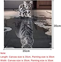 BEMEI DIY 5D Diamond Painting Full Drill Crystal Rhinestone Embroidery Pictures Arts Craft for Home Wall Decor