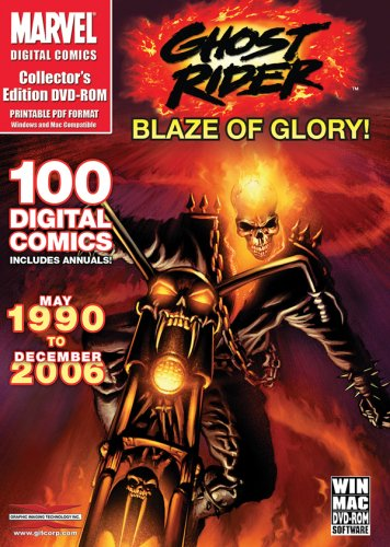 UPC 723721157661, Ghost Rider: Blaze Of Glory: Over 100 Digital Comics from May 1990 - December 2006