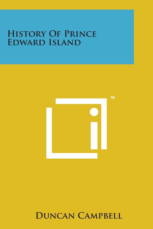 Download History of Prince Edward Island pdf epub