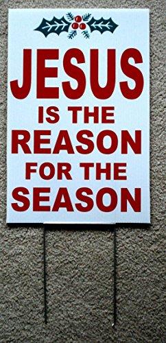 1 Pc Perfect Popular Jesus The Reason for The Season Yard...