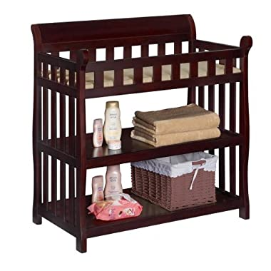 Delta Children Eclipse Changing Table, Espresso Cherry