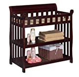 Crib and Changing Table Combo Reviews Delta Children Eclipse Changing Table, Espresso Cherry