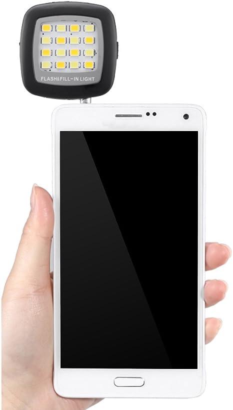 Bestlight 16 LED Smartphone Flash Fill Light para iPhone 6S Plus ...