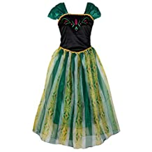 Eyekepper Women's Princess Anna Dress Cosply Costume Adult
