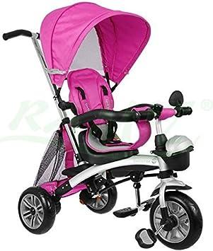 SporTrike Explorer Air 3In1 Triciclo evolutivo para niño - Rosado