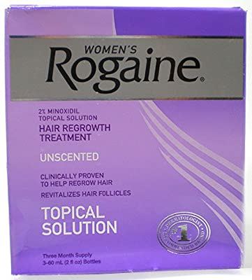 Rogaine Hair Regrowth Treatment for Women, 2 Ounce (60 ml)