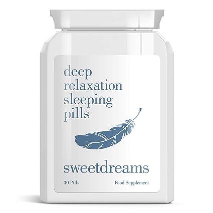 SWEET DREAMS DEEP RELAXATION SLEEPING PILLS DULCES SUEÑOS DE RELAJACIÓN somníferos PROFUNDOS - INSOMNIO RELAX TABLETAS