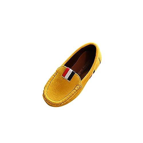 PAOLIAN Verano Cómodo Zapatos para Niñas para Niños Antideslizante Suela Blanda Casual Escarchado Calzado Breathable Mocasines