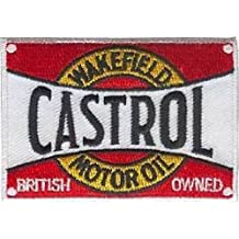 Castrol Wakefield Embroidered Cloth Patch From England