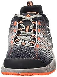 Columbia Men\'s Drainmaker III Fashion Sneaker, Black/Columbia Grey, 14 D US