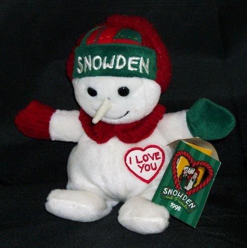 - Snowman 1998 Snowden Mini Bean Bag 8