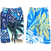 MagiDeal 2pieces Dolls Beach Pants For Ken Barbie Dolls Clothes Swimwear Underpants Trousers Holiday Costume