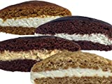 Bird-in-Hand Bake Shop Homemade Whoopie Pies, Variety Pack, Favorite Amish Food (Pack of 12)