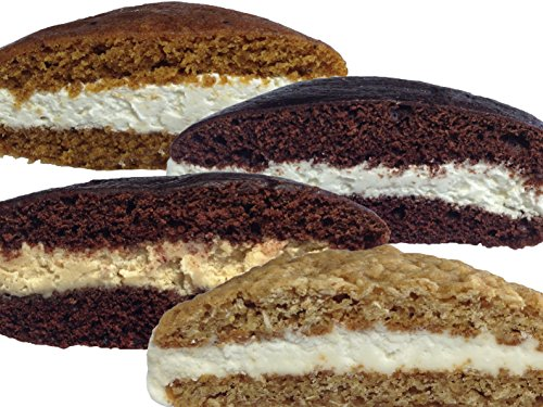(Bird-in-Hand Bake Shop Homemade Whoopie Pies, Variety Pack, Favorite Amish Food (Pack of 12))