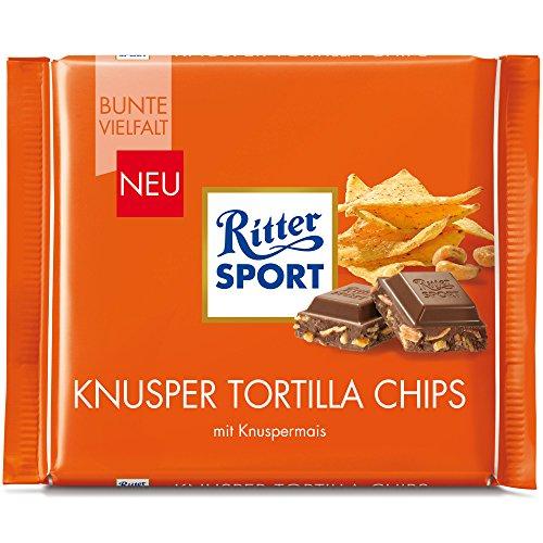 Ritter Sport Crunchy Tortilla Chips (5 x 100g)