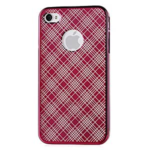 Solid Color Hard Case for iPhone 4/4S(Color Randoms)