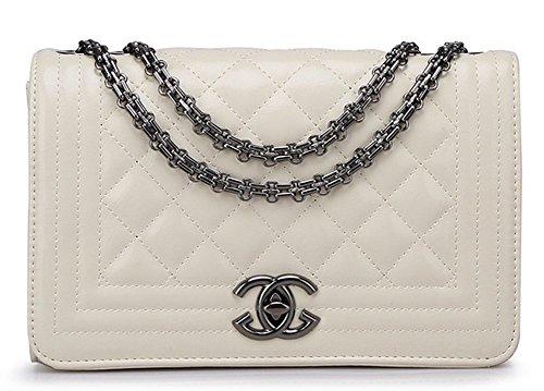 red-leather-quality-good-woman-brown-black-knapsack-handbag-messenger-bag-bag-4802-rice-white