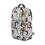 Disney Princess All Over Print Backpack School Bag Featuring Princesses Jasmine, Belle, Ariel and Cinderella