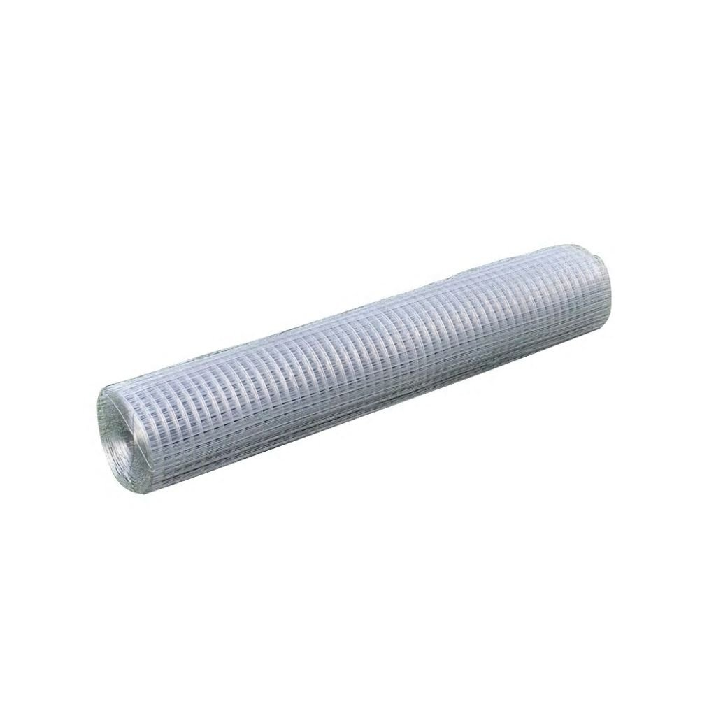 XuzhEU Square Wire Netting 1x25 m Galvanized Outdoor Hard Material Protecting Wire Fencing Panels Roll Screening Boards Netting