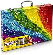 Crayola Despicable Me Inspiration Art Case, 140 Pieces, Minions, Art Set, Ages 6, 7, 8, 9, 10