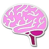 PinMart's The Human Brain Medical Halloween Enamel Lapel Pin