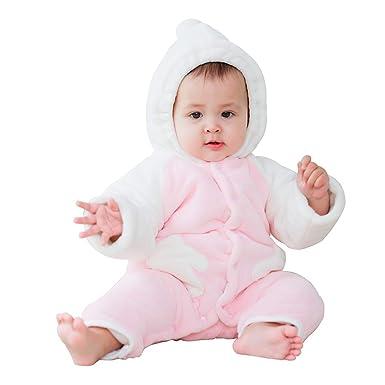 mikistoy Bebé Traje De Esquiar Onesies Recién Nacido Infantil Romper Jumosuit Invierno Espesar Animal Traje para