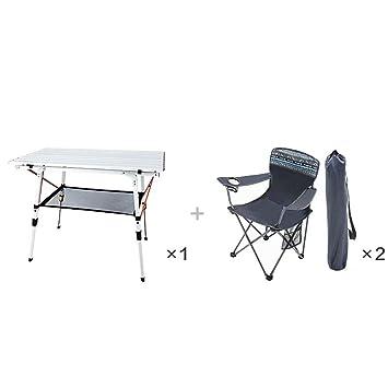 WW-outdoor product Juego de balcón - Mesa y sillas Plegables ...