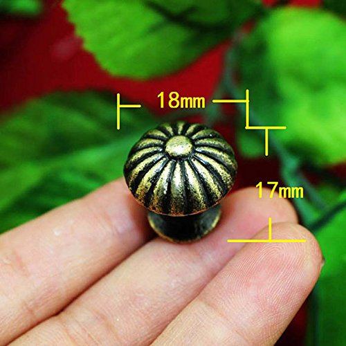 YingYing Home Vintage Small Case Cabinet Cupboard Drawer Pull Handle Dome Knob Jewelry Box Mini Decorative