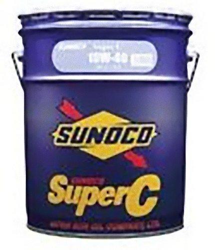 スノコ(SUNOCO)オイル SUPER C 10W-40 内容量:20L 規格:DH2 粘度:10W-40 部分合成油 B006FE025S