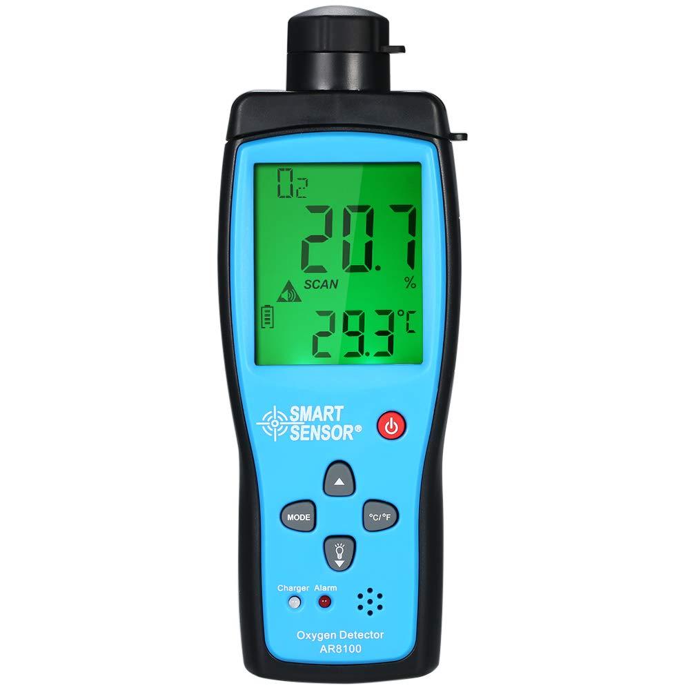 Oxygen Meter, KKmoon Oxygen Meter Digital Portable Automotive O2 Gas Tester Monitor Detector Handheld Oxygen Meter