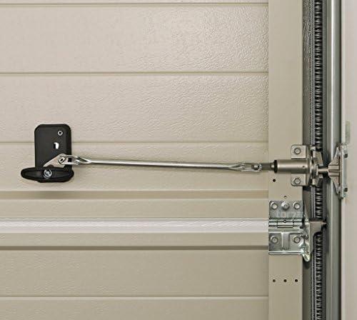 Hörmann Juego de manillas de puerta negra con cerradura en un juego completo/para las puertas seccionales de los tipos LTE40, EPU40 y LPU 40: Amazon.es: Bricolaje y herramientas