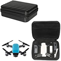 DZT1968 Waterproof Handbag Case Protective die-cut Case with Zipper Carbon Hard Bag For DJI Spark Drone